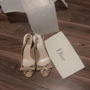 Dior Parisienne Sling - Made in Italy